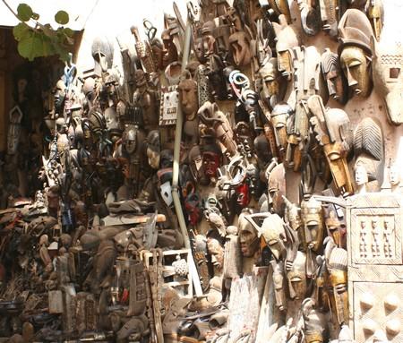 Bamako_masques