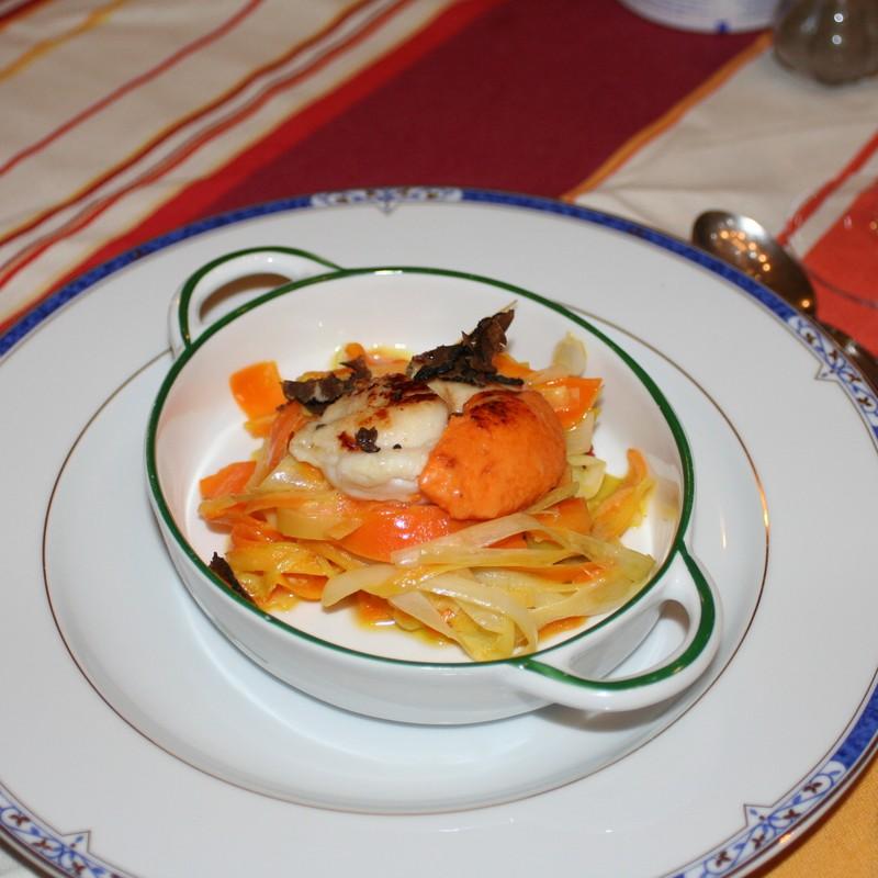Souvenir culinaire normand les coquilles saint jacques - Cuisiner les coquilles saint jacques fraiches ...